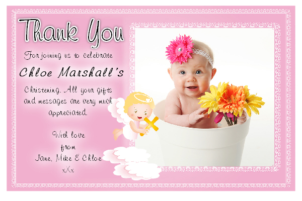 Baptismal Invitation Message for adorable invitation sample