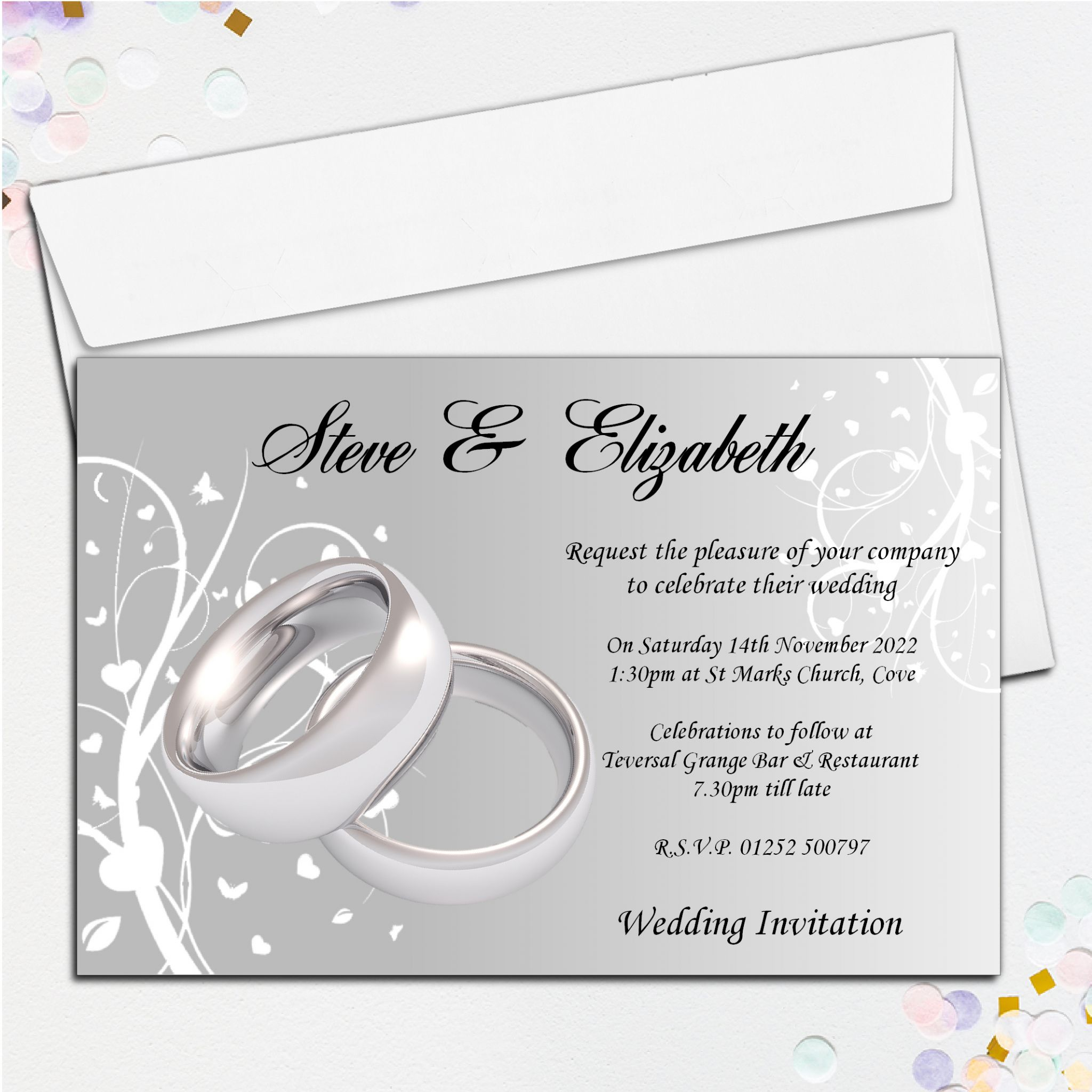 Wedding Ring Invitations Designs - Jewelry Ideas