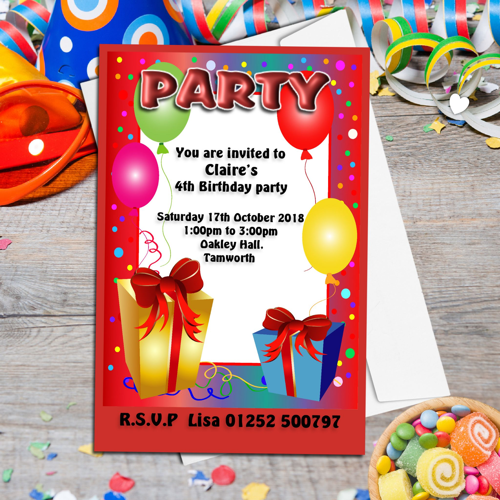 Balloon Party Invitation Image collections - Party Invitations Ideas