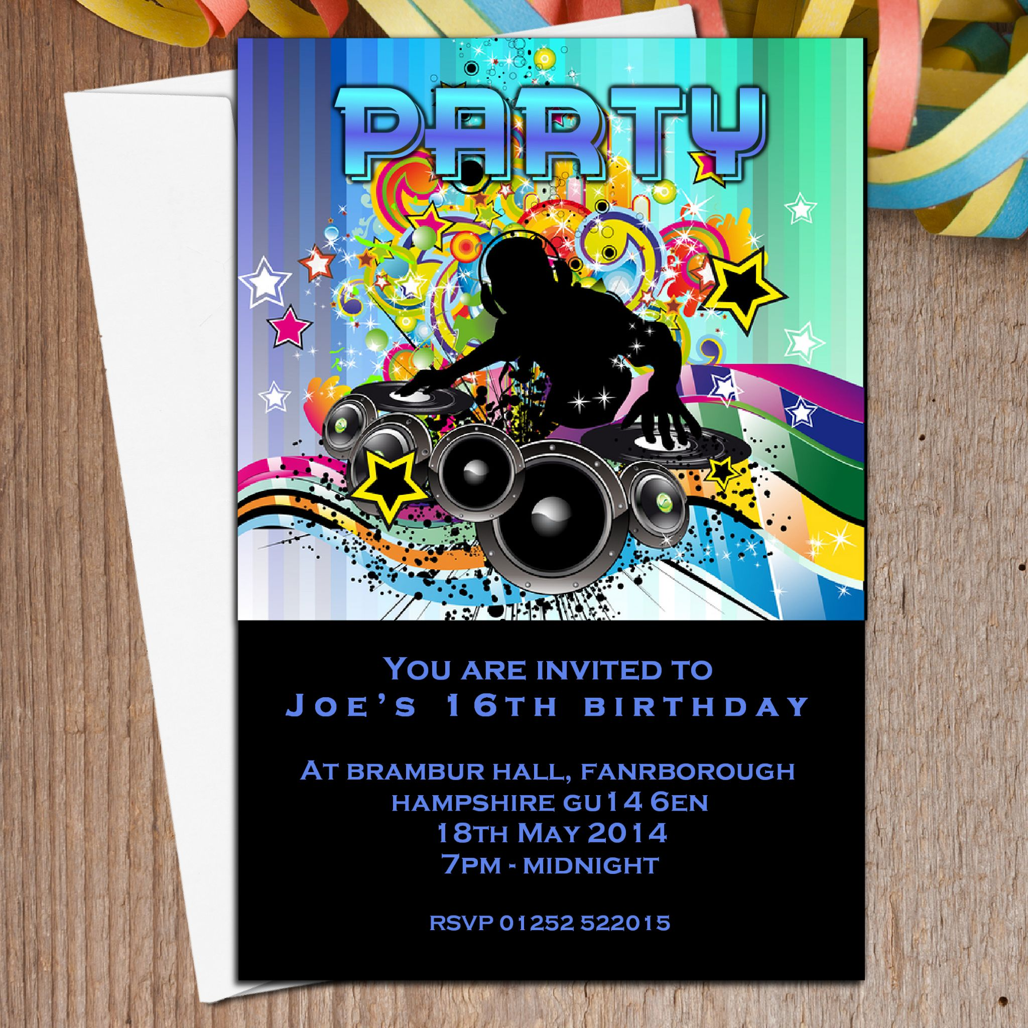 Disco Party Invite was beautiful invitations template