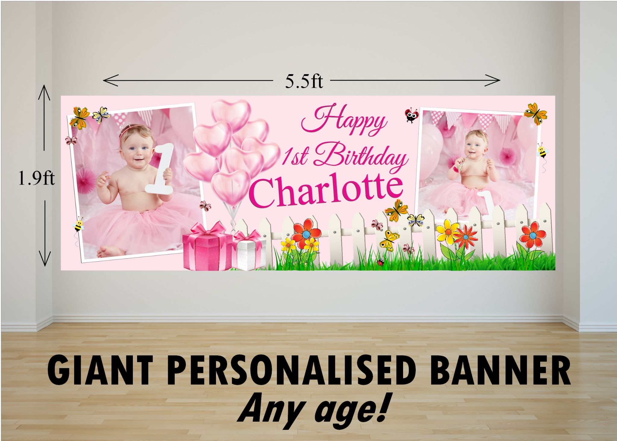 personalised happy birthday banner juve cenitdelacabrera co